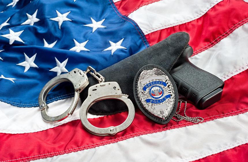 Police paraphernalia