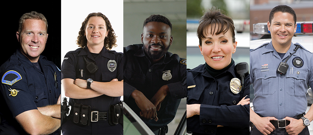 Police officers - first responders